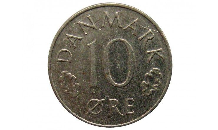 Дания 10 эре 1975 г.
