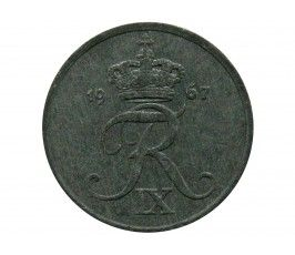 Дания 1 эре 1967 г.