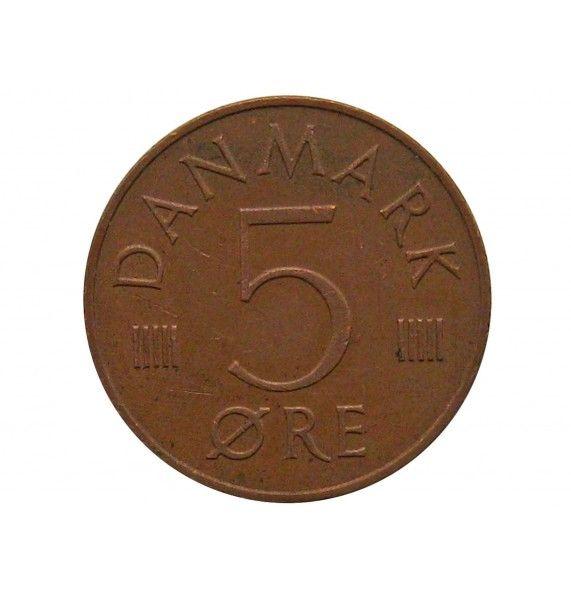 Дания 5 эре 1987 г.
