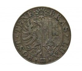 Женева 25 сантимов 1839 г.