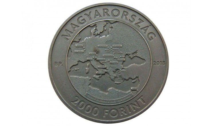 Венгрия 2000 форинтов 2018 г. (Окончание Первой Мировой войны)