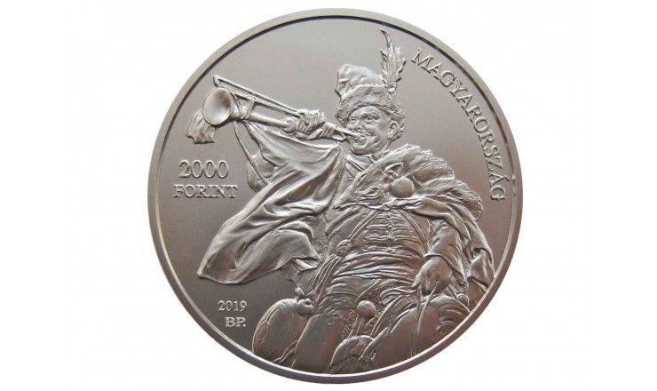 Венгрия 2000 форинтов 2019 г. (Дьюла Бенцур)