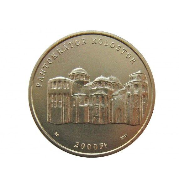 Венгрия 2000 форинтов 2019 г. (Ирина Венгерская)