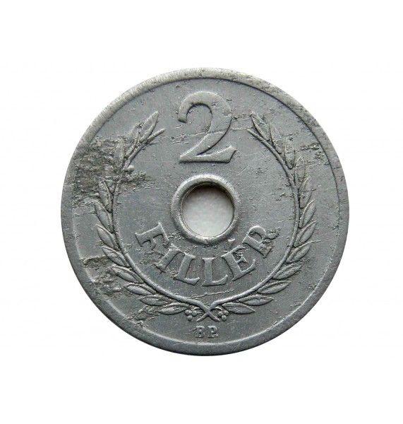 Венгрия 2 филлера 1950 г.