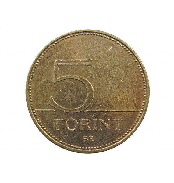 Венгрия 5 форинтов 2002 г.