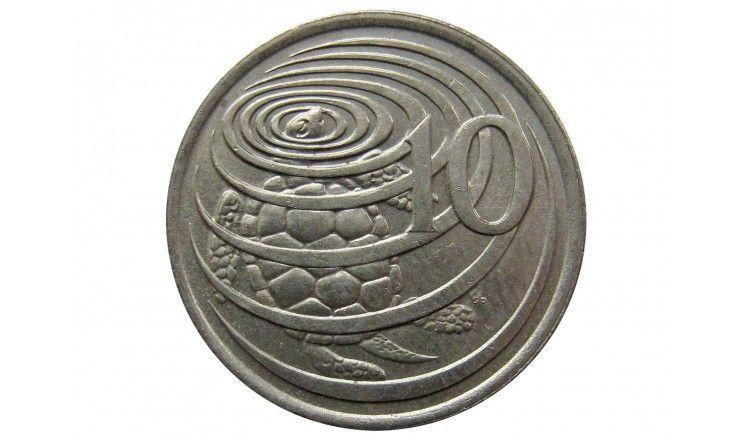 Каймановы острова 10 центов 1990 г.