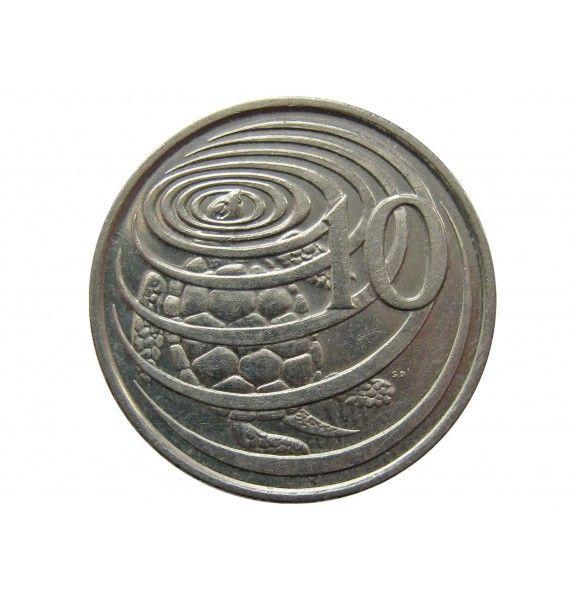 Каймановы острова 10 центов 1996 г.