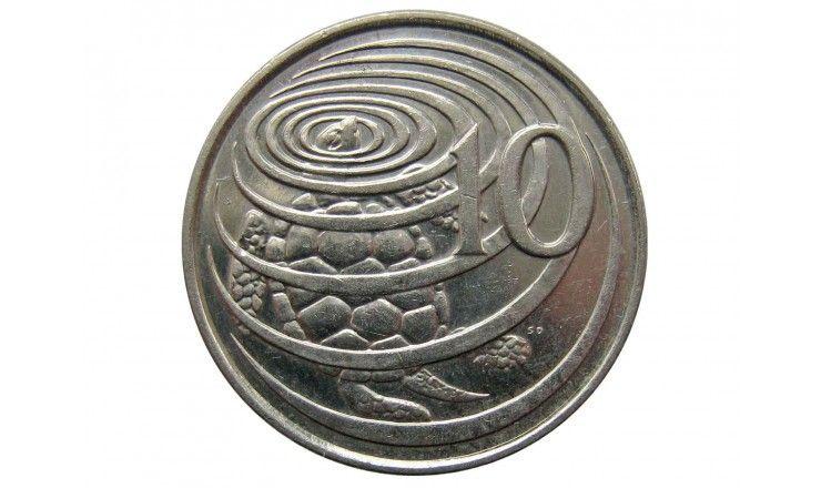 Каймановы острова 10 центов 2005 г.