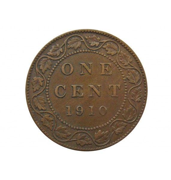 Канада 1 цент 1910 г.