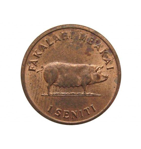 Тонга 1 сенити 1979 г.