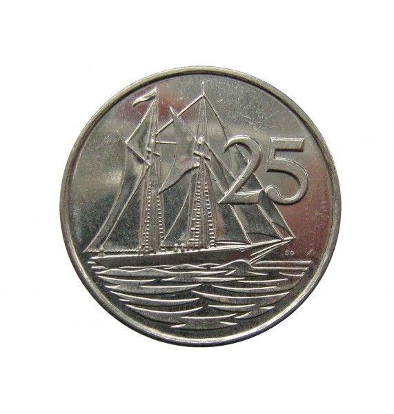 Каймановы острова 25 центов 2005 г.
