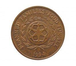 Тонга 2 сенити 1994 г.