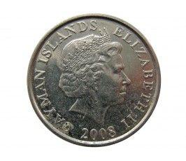 Каймановы острова 5 центов 2008 г.
