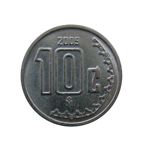 Мексика 10 сентаво 2009 г.