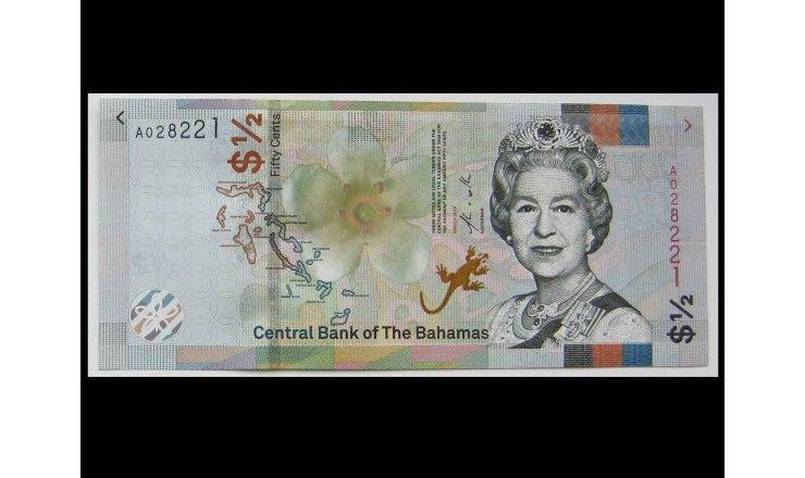 Багамские острова 1/2 доллара 2019 г.