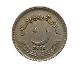 Пакистан 5 рупий 2002 г.