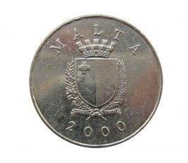 Мальта 1 лира 2000 г.