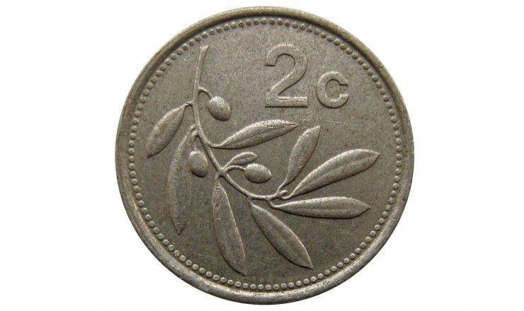Мальта 2 цента 1995 г.