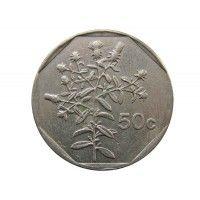 Мальта 50 центов 1992 г.
