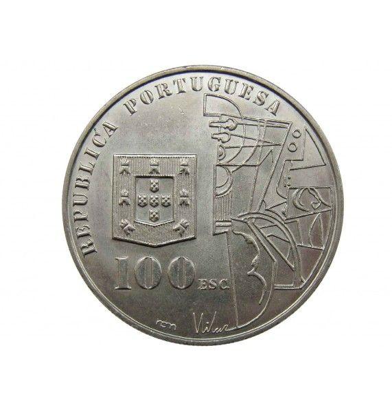 Португалия 100 эскудо 1987 г. (Амадеу ди Соуза-Кардозу)