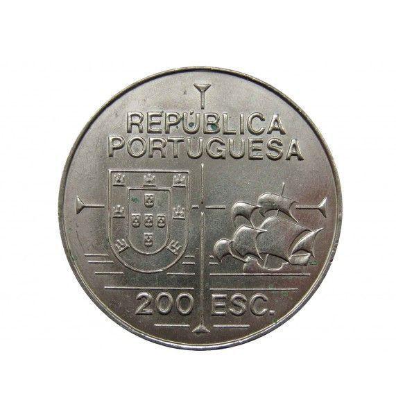 Португалия 200 эскудо 1992 г. (Хуан Родригес Кабрильо)