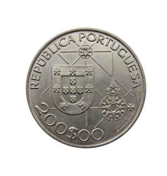 Португалия 200 эскудо 1992 г. (Новый Свет - Америка)