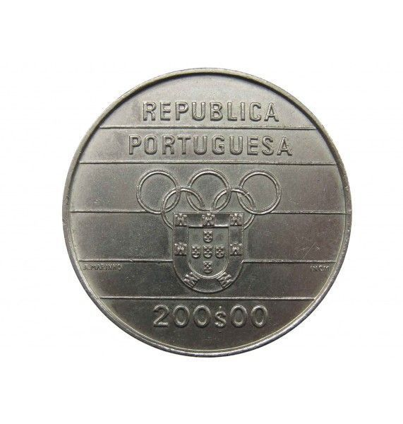 Португалия 200 эскудо 1992 г. (Олимпийские Игры в Барселоне)