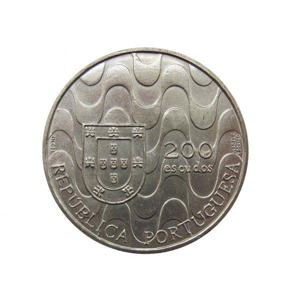 Португалия 200 эскудо 1992 г. (Председательство в ЕС)