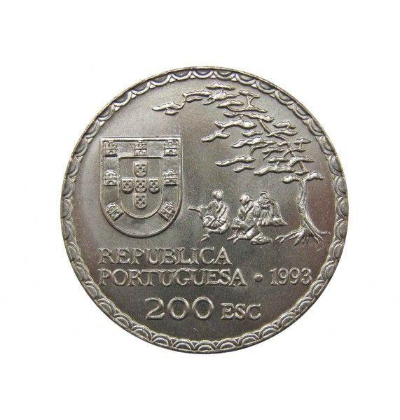 Португалия 200 эскудо 1993 г. (450 лет искусству намбан)