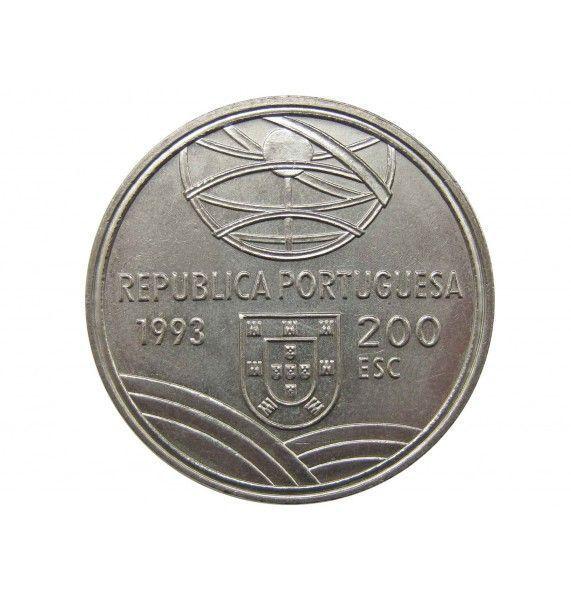 Португалия 200 эскудо 1993 г. (Эспингарда)