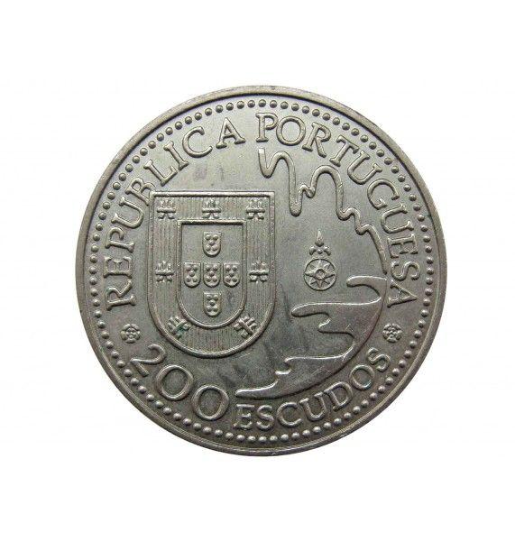 Португалия 200 эскудо 1993 г. (Танегасима)