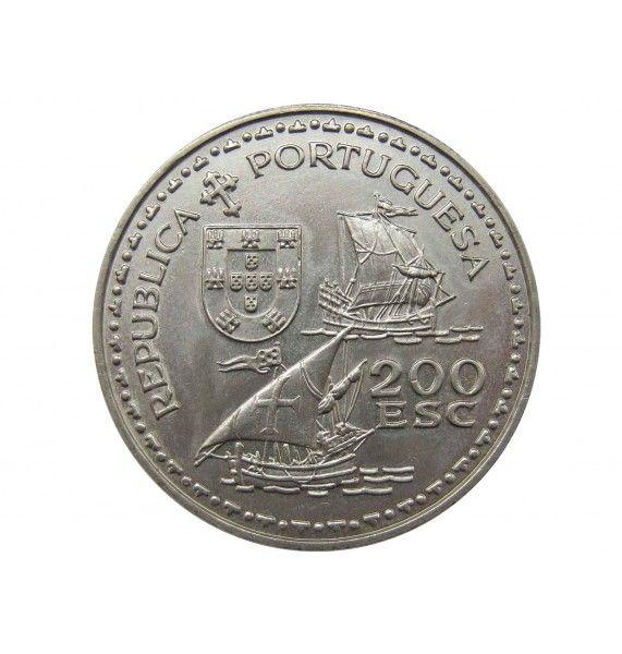 Португалия 200 эскудо 1994 г. (Генрих Мореплаватель)