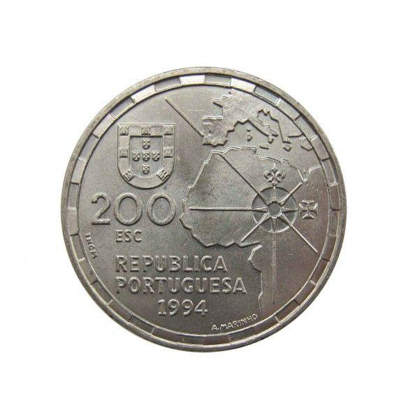 Португалия 200 эскудо 1994 г. (Раздел мира)