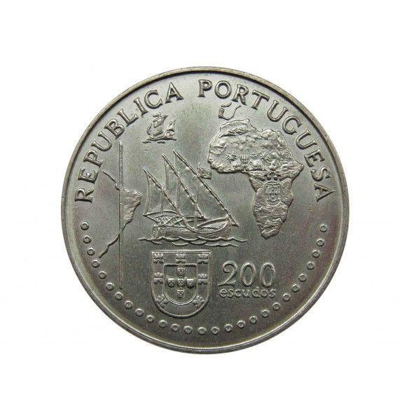 Португалия 200 эскудо 1994 г. (Тордесильясский договор)