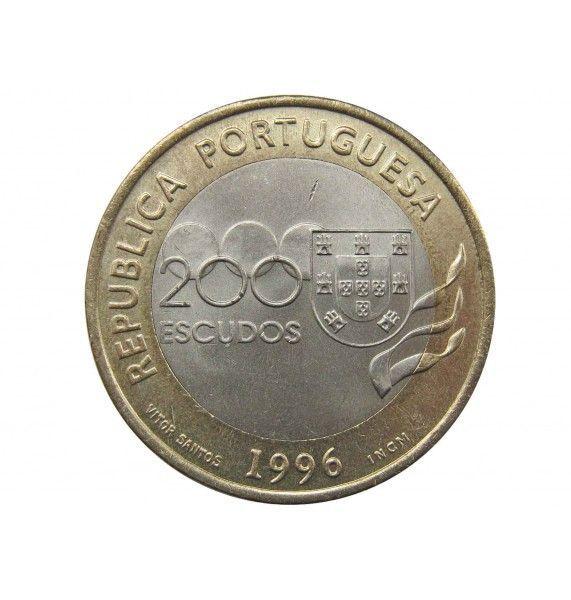 Португалия 200 эскудо 1996 г. (XXVI летние Олимпийские Игры в Атланте)