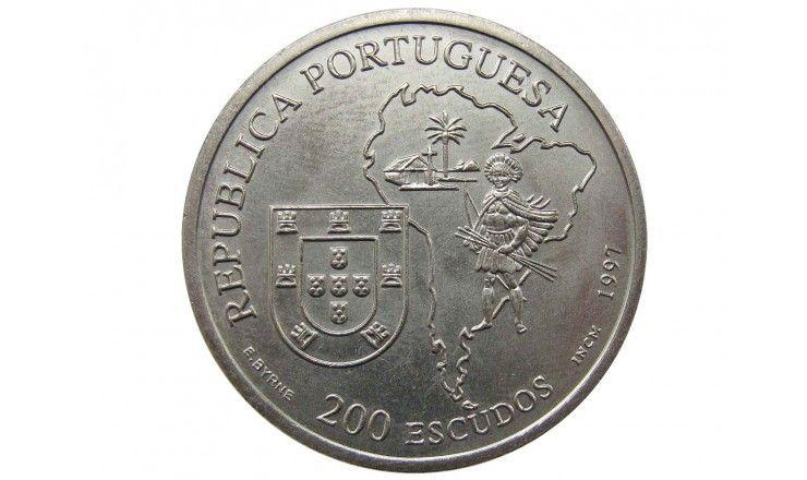 "Португалия 200 эскудо 1997 г. (Хосе де Анчьета Льярена - ""Апостол Бразилии"")"