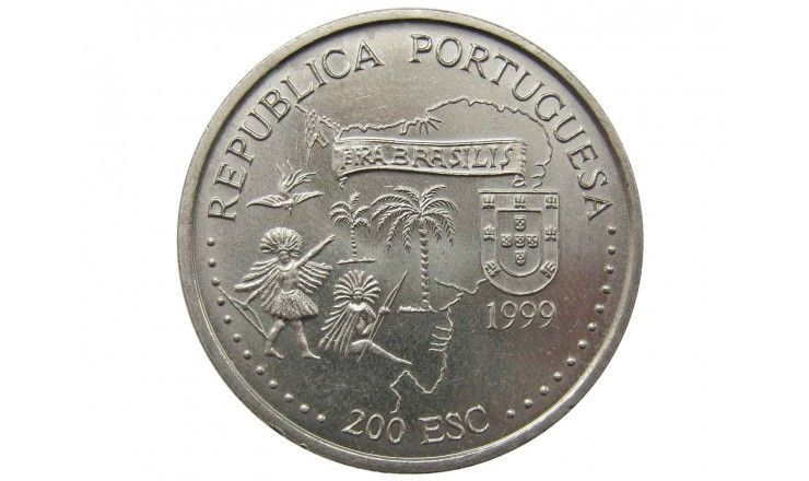 Португалия 200 эскудо 1999 г. (Бразилия)