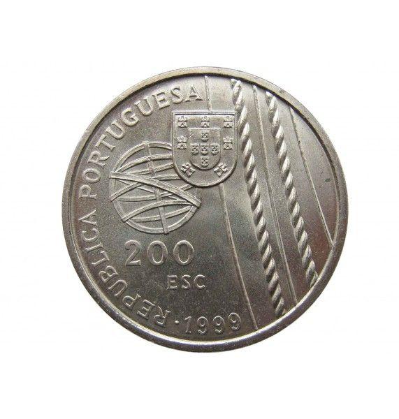 Португалия 200 эскудо 1999 г. (Смерть в море)