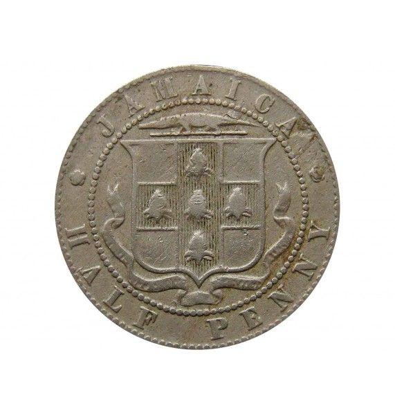 Ямайка 1/2 пенни 1906 г.