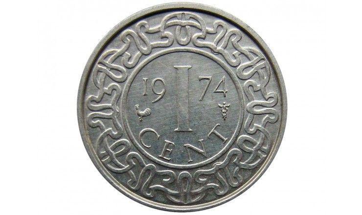 Суринам 1 цент 1974 г.