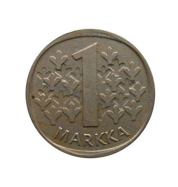 Финляндия 1 марка 1987 г.