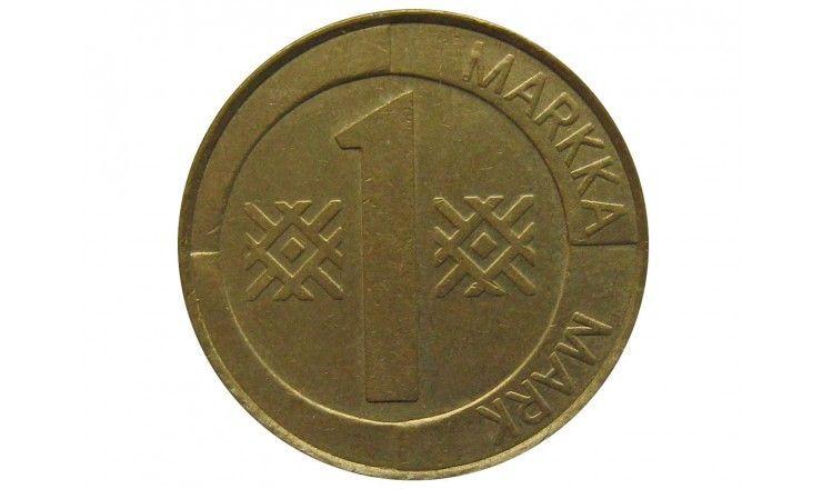 Финляндия 1 марка 1996 г.
