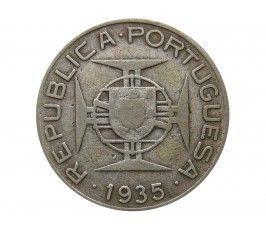 Мозамбик 2,5 эскудо 1935 г.