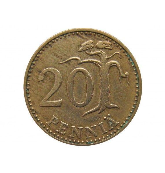 Финляндия 20 пенни 1971 г.