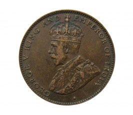 Маврикий 2 цента 1923 г.