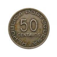 Мозамбик 50 сентаво 1936 г.