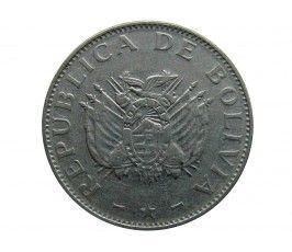 Боливия 1 боливиано 1997 г.