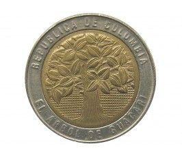 Колумбия 500 песо 2002 г.