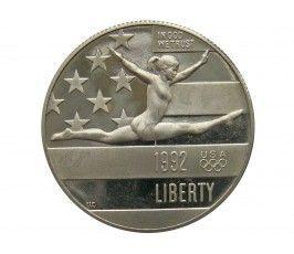 США 1/2 доллара 1992 г. (XXV летние Олимпийские Игры, Барселона) S
