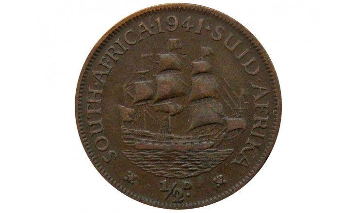 Южная Африка 1/2 пенни 1941 г.